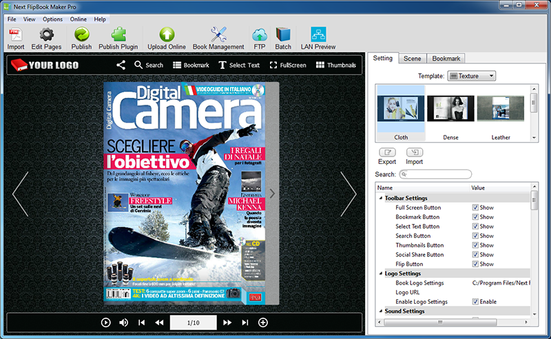 Next FlipBook Maker Pro for Windows