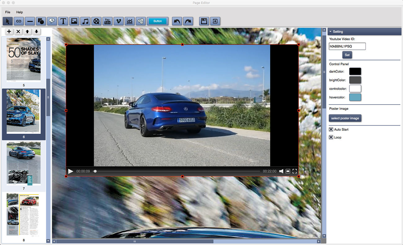 Poster design software mac - Powerful Flipbook Editor Add Media And Interactive Elements
